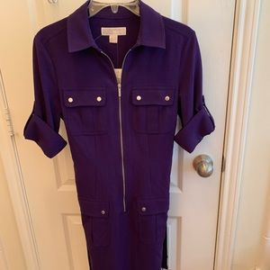 NWT Michael Kors purple dress/small